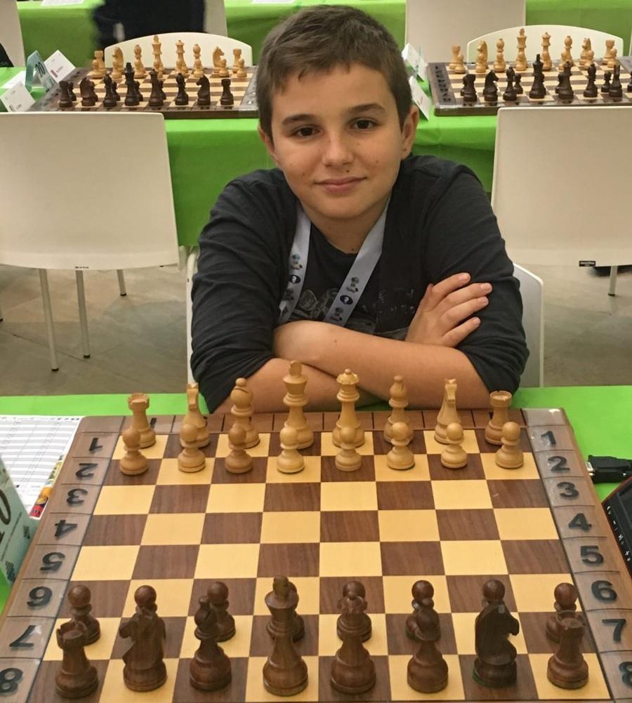 1ere victoire de Marc'Andria pour sa première sélection en équipe de France à seulement 12 ans !