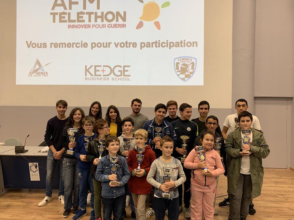 Belle participation pour le premier blitz du téléthon à Borgu