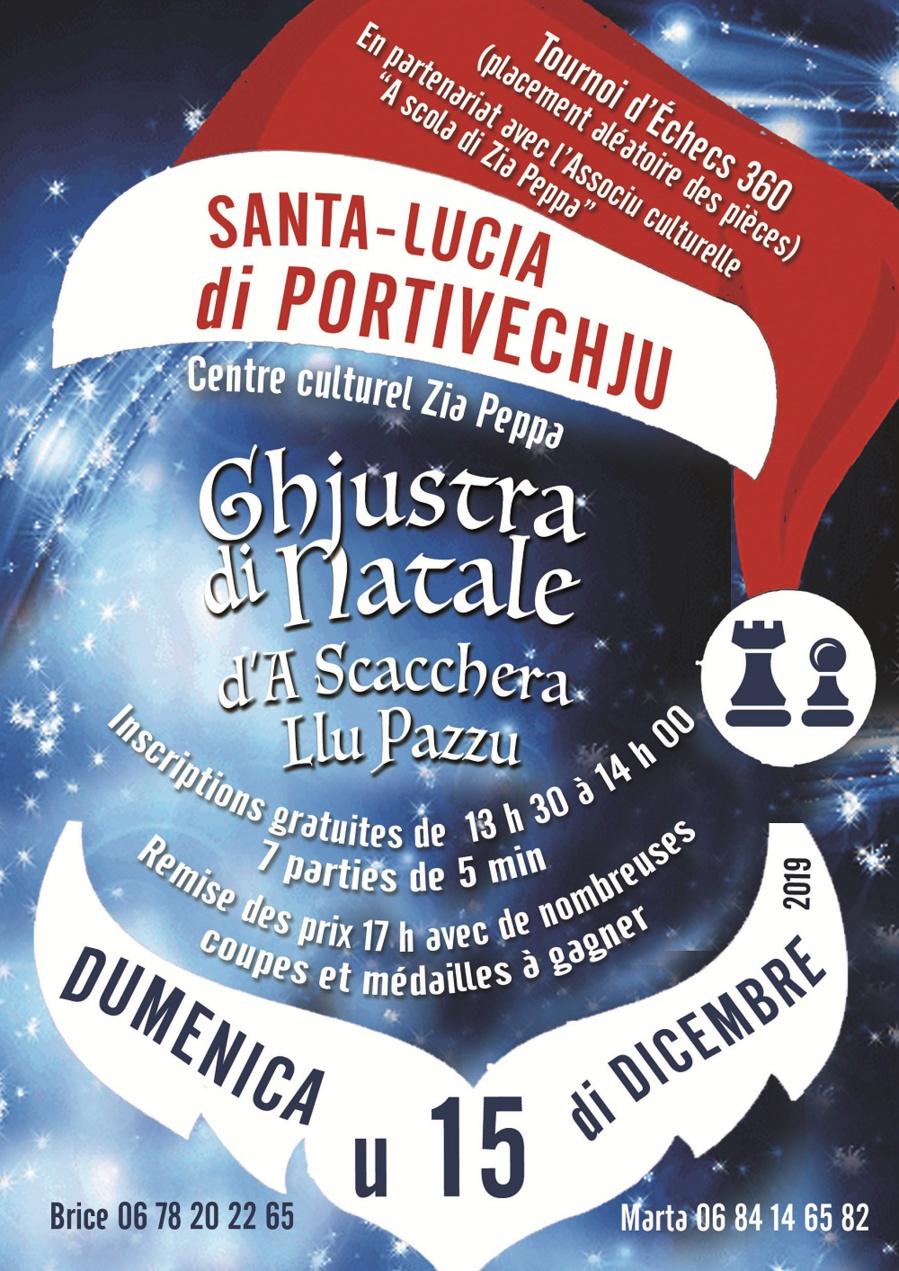 Blitz de Noel à Aiacciu et à Santa Lucia di Portivechju