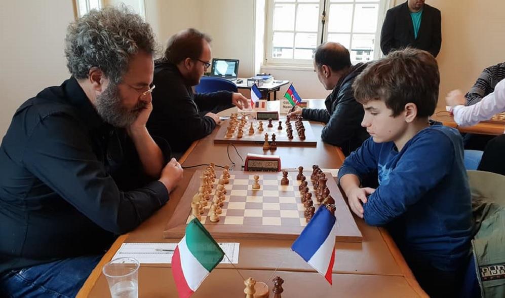 GM Alberto DAVID (2545) - MI Marc' Andria MAURIZZI ( 2404) : partie nulle