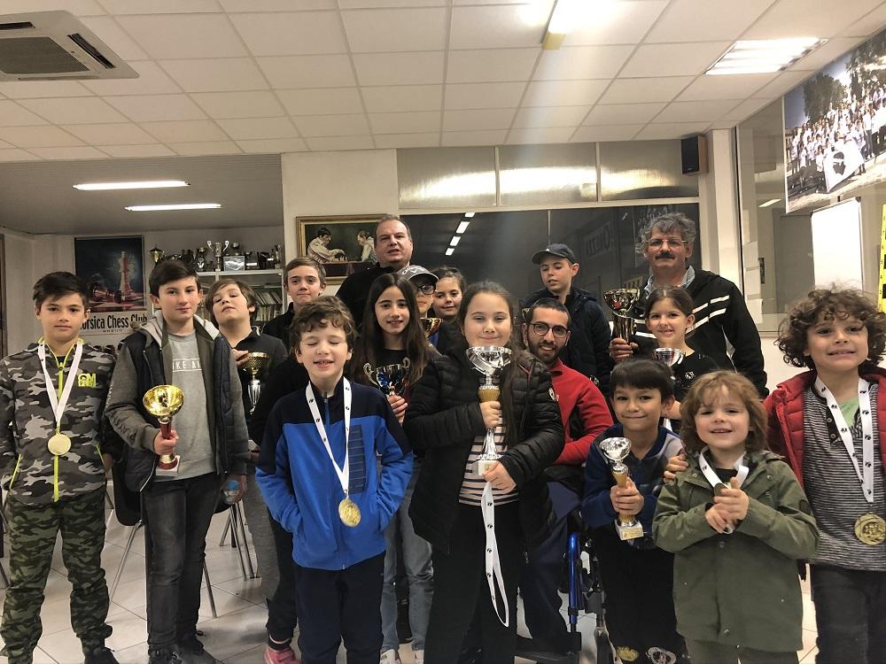 Medhi Messaoud remporte la 12e édition de l'Open di Natale du Corsica Chess Club