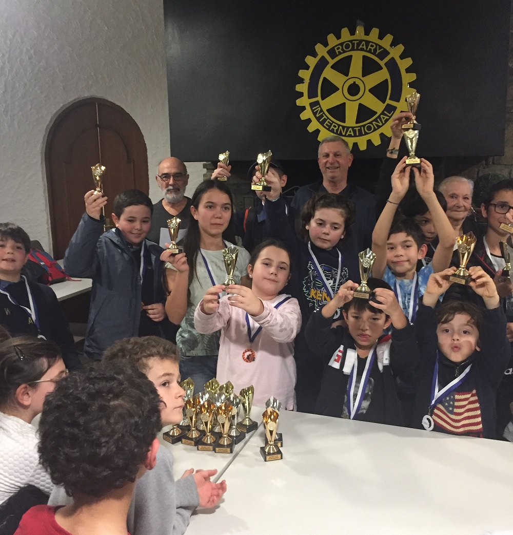 La solidarité autour de l'échiquier à Casamozza avec le Rotary Club Bastia Mariana