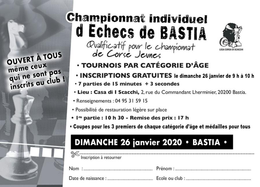 Bastia accueille le premier qualificatif pour le championnat de Corse des jeunes 2020
