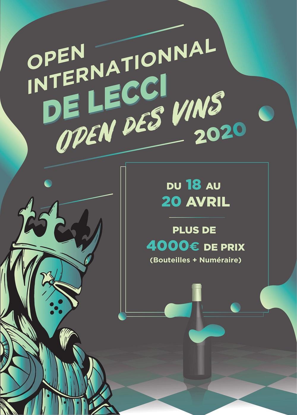 Open International de Lecci 2020 - 2e Open des Vins