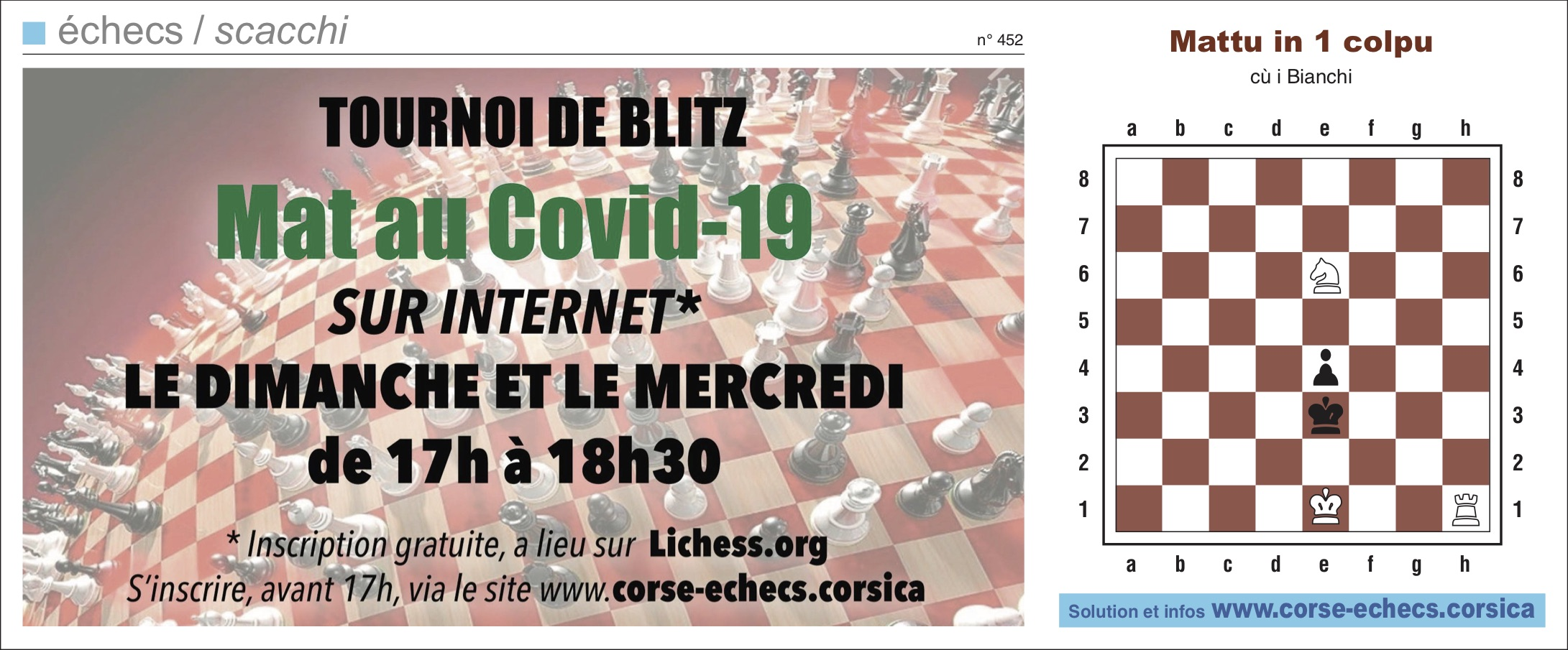 Corse-Matin du 24 mai 2020
