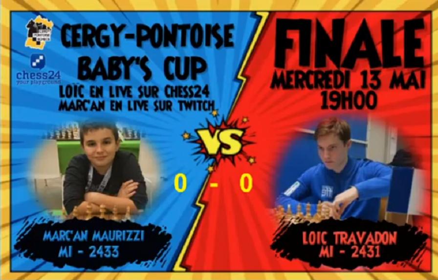 Marc'Andria joue la finale du Cergy Pontoise Baby's Cup !