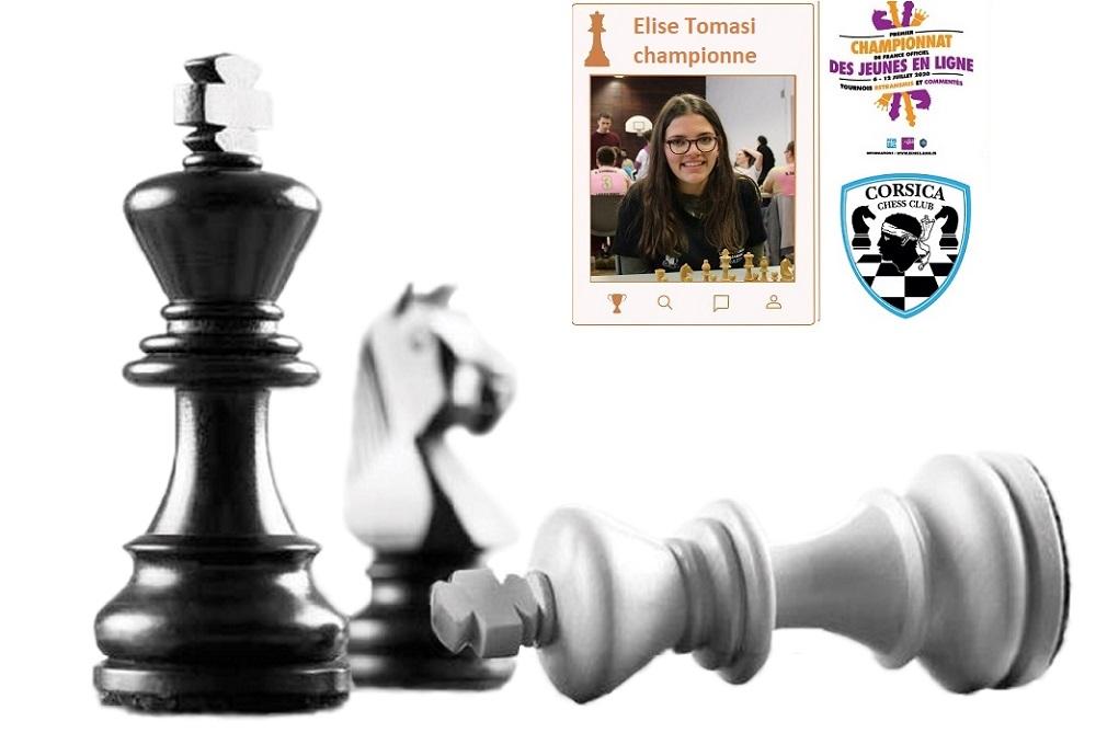 Elise Tomasi Championne de France U20