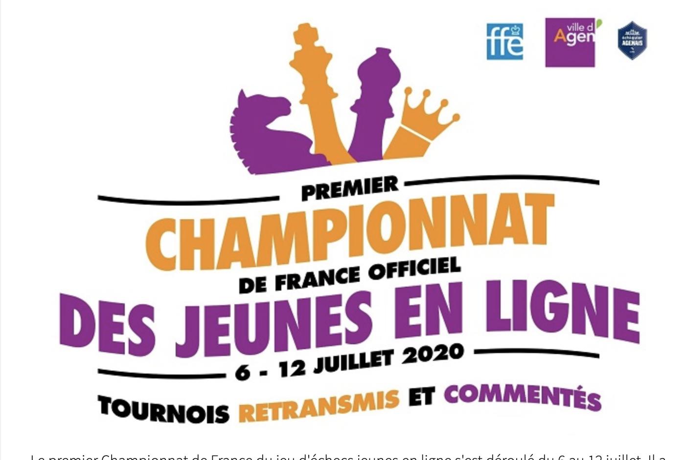 La commission fédérale d'appel  demande le maintien du titre de Champion de France U14 à Calypso