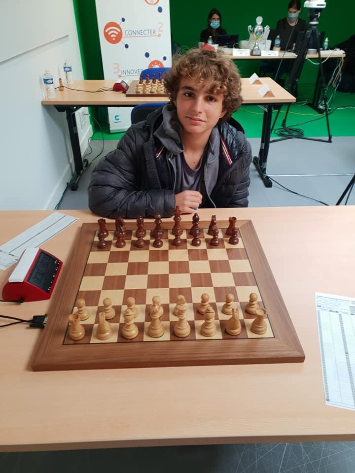Marc' Andria Maurizzi à une partie de la norme de Grand Maître !