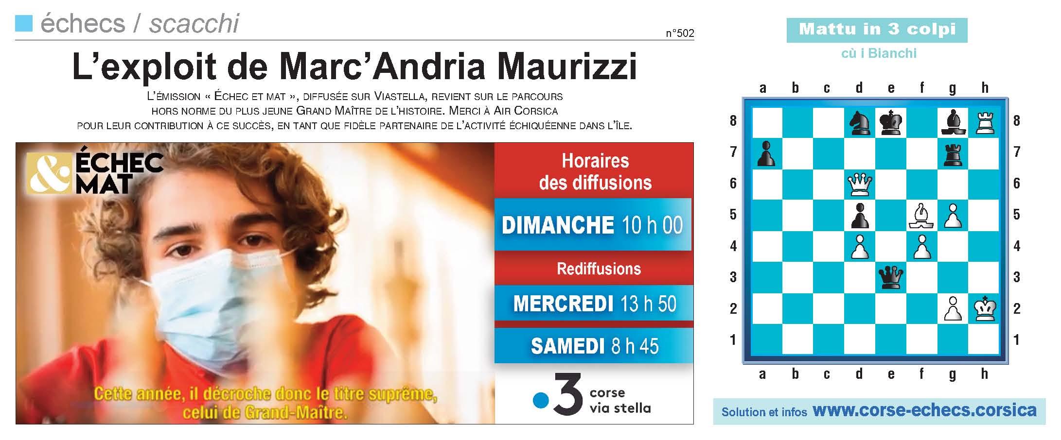 Corse-Matin du 6 juin 2021