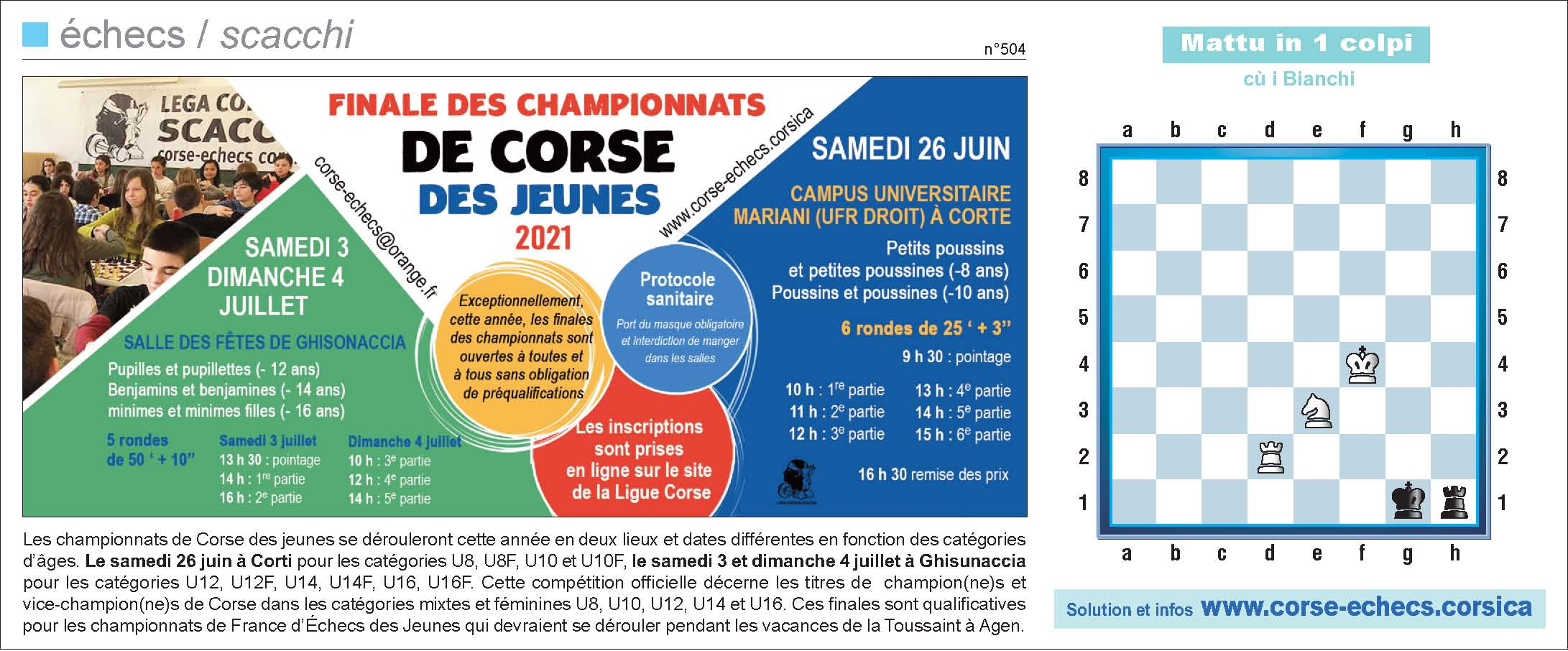 Corse-Matin du 20 juin 2021