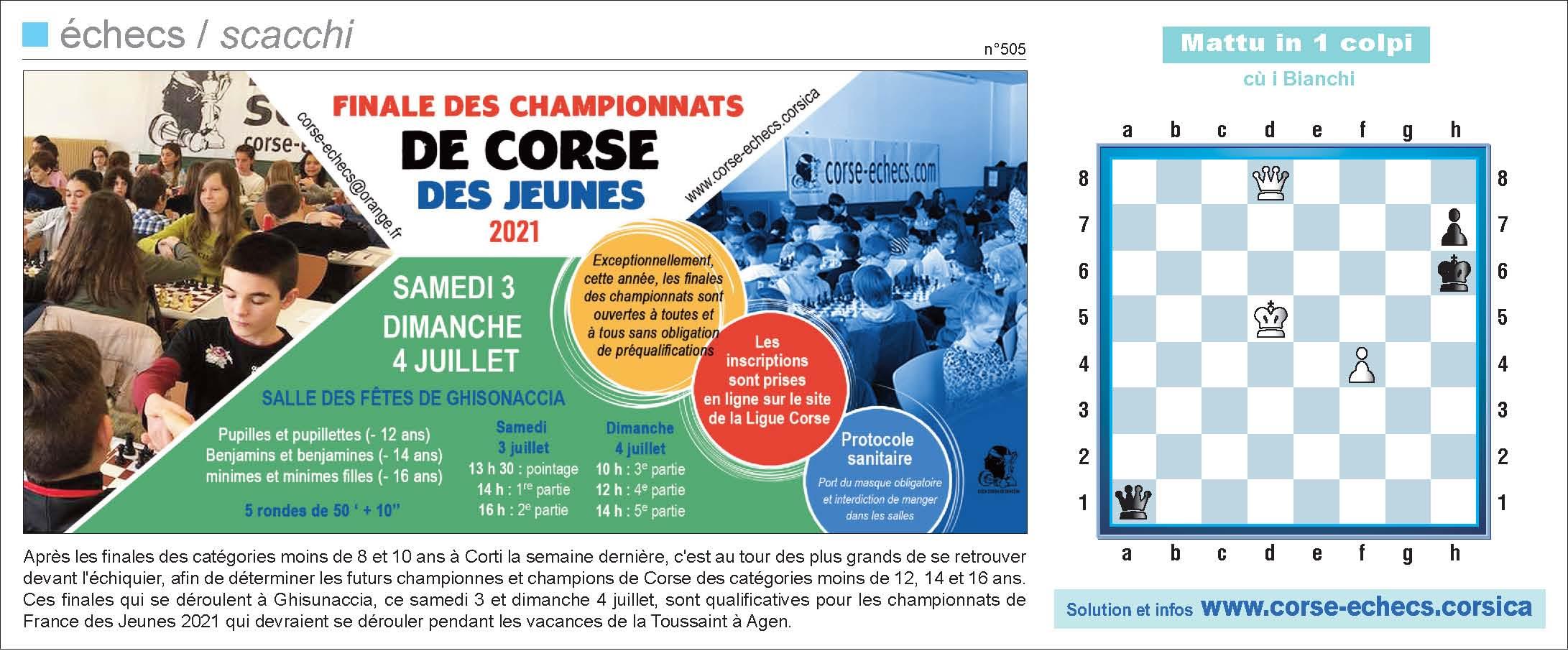 Corse-Matin du 27 juin 2021