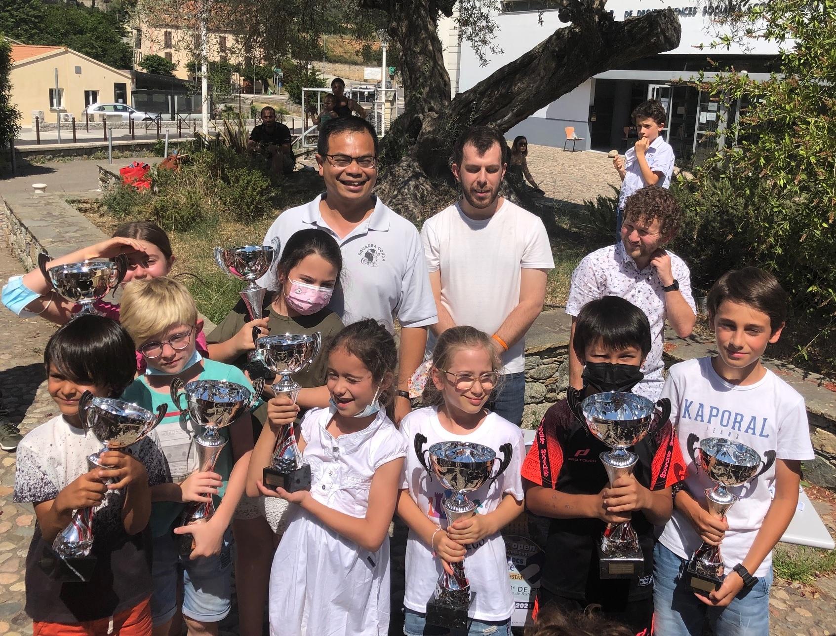 Prima tappa di i campiunati di Corsica di i giovani 2021: i risultati
