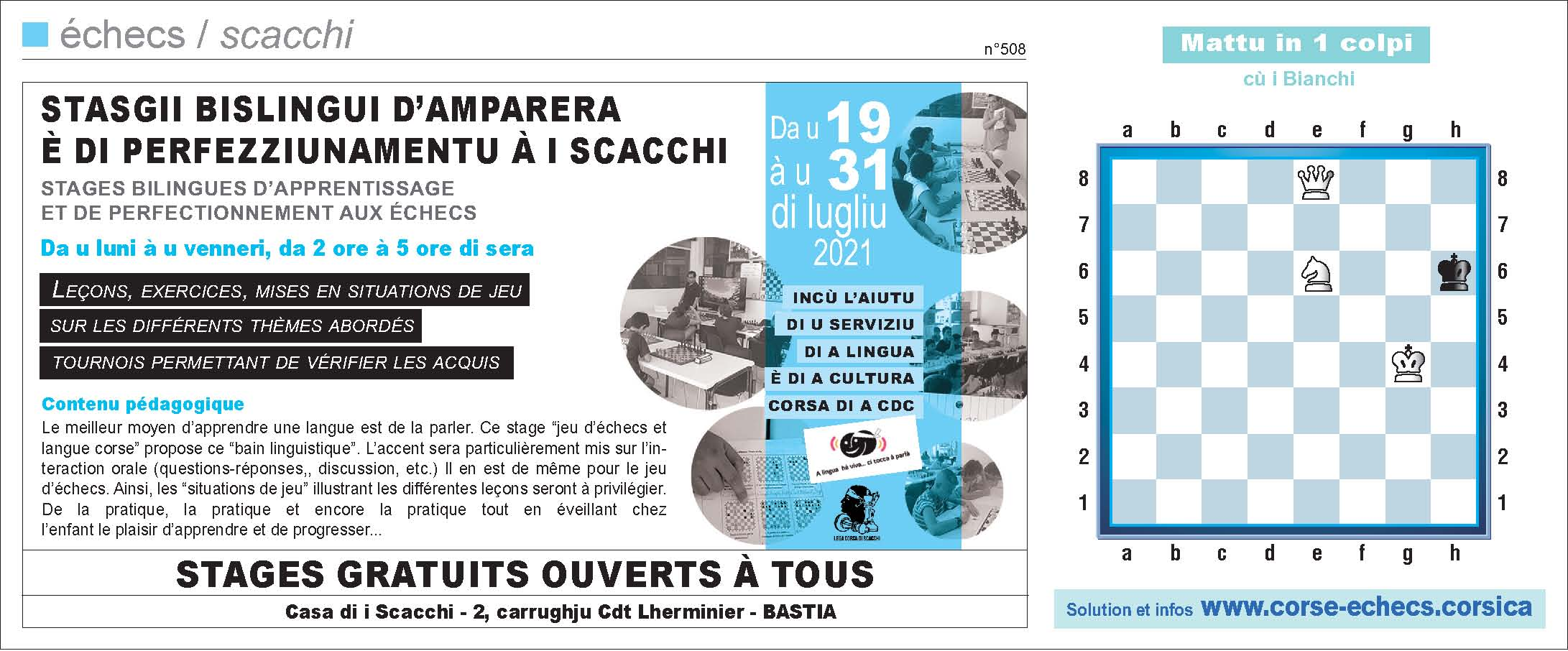Corse-Matin du 18 juillet 2021