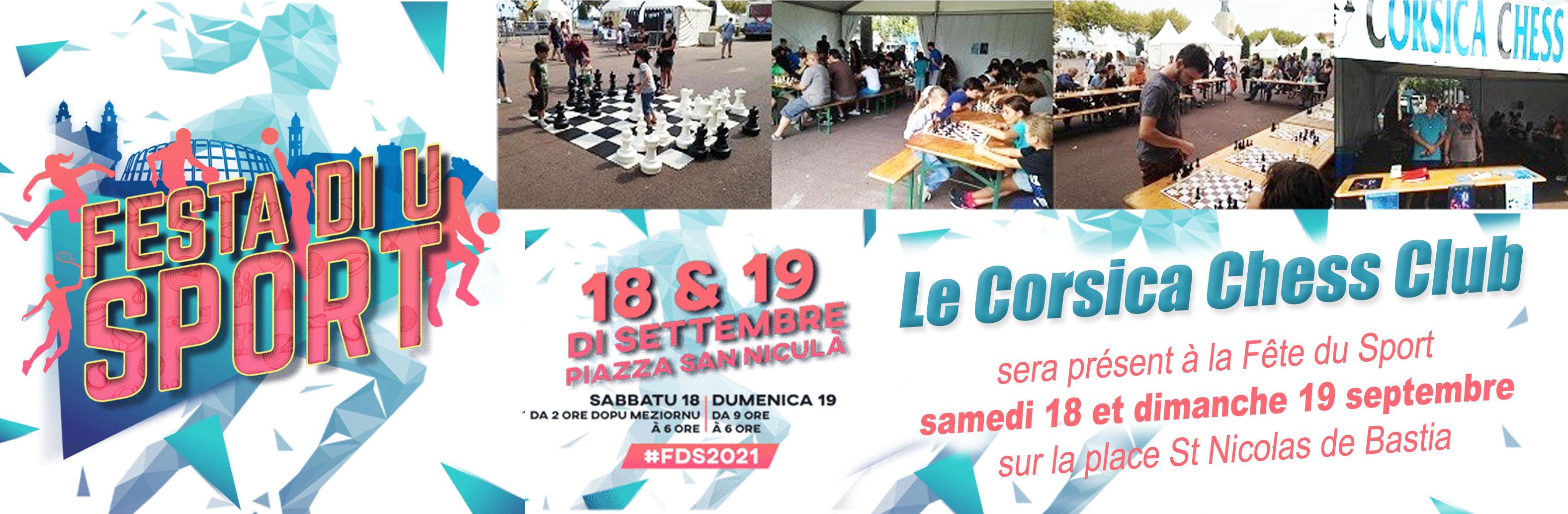 Festa di u sportu in Bastia cù u Corsica Chess Club