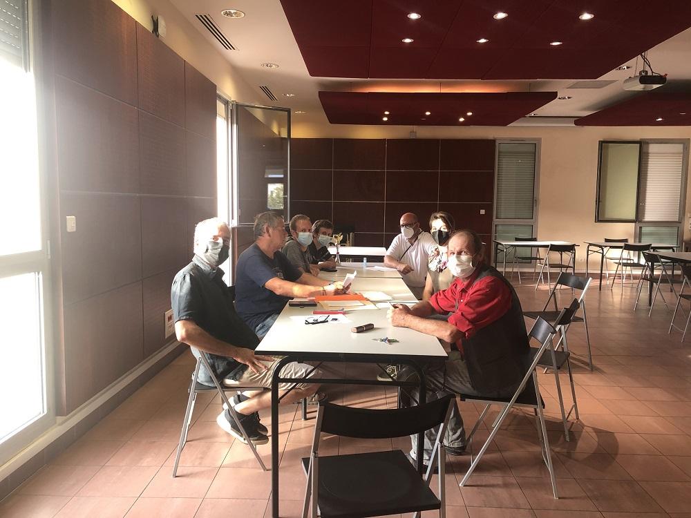 Les membres du nouveau CD du Balagna Chess Club