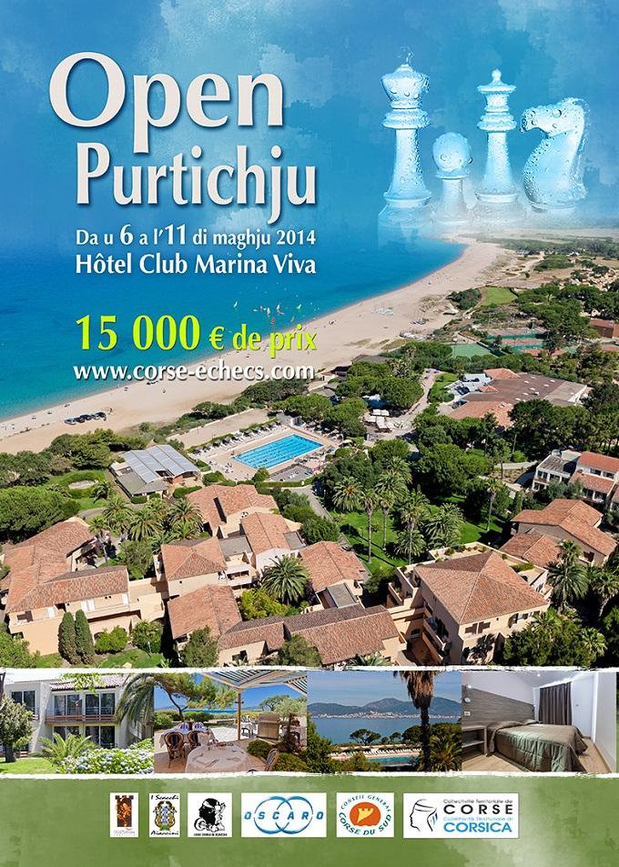 1er Open di Purtichju, 15 000 € de prix !