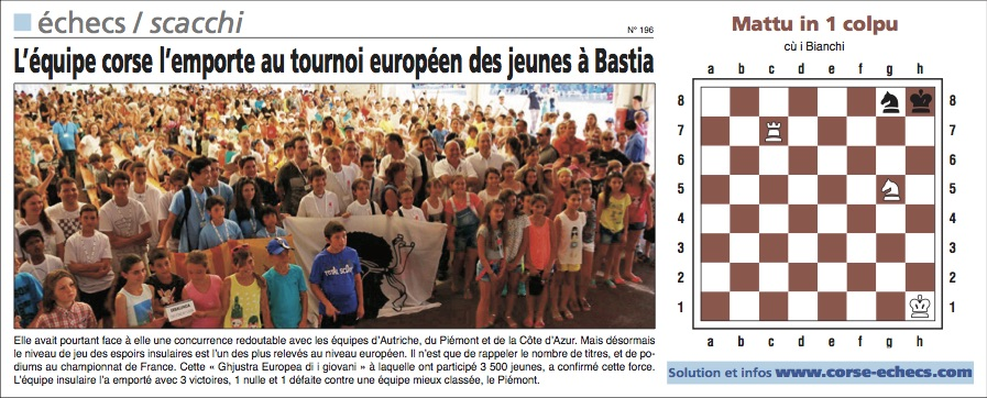 Corse-Matin du 14 juin 2015
