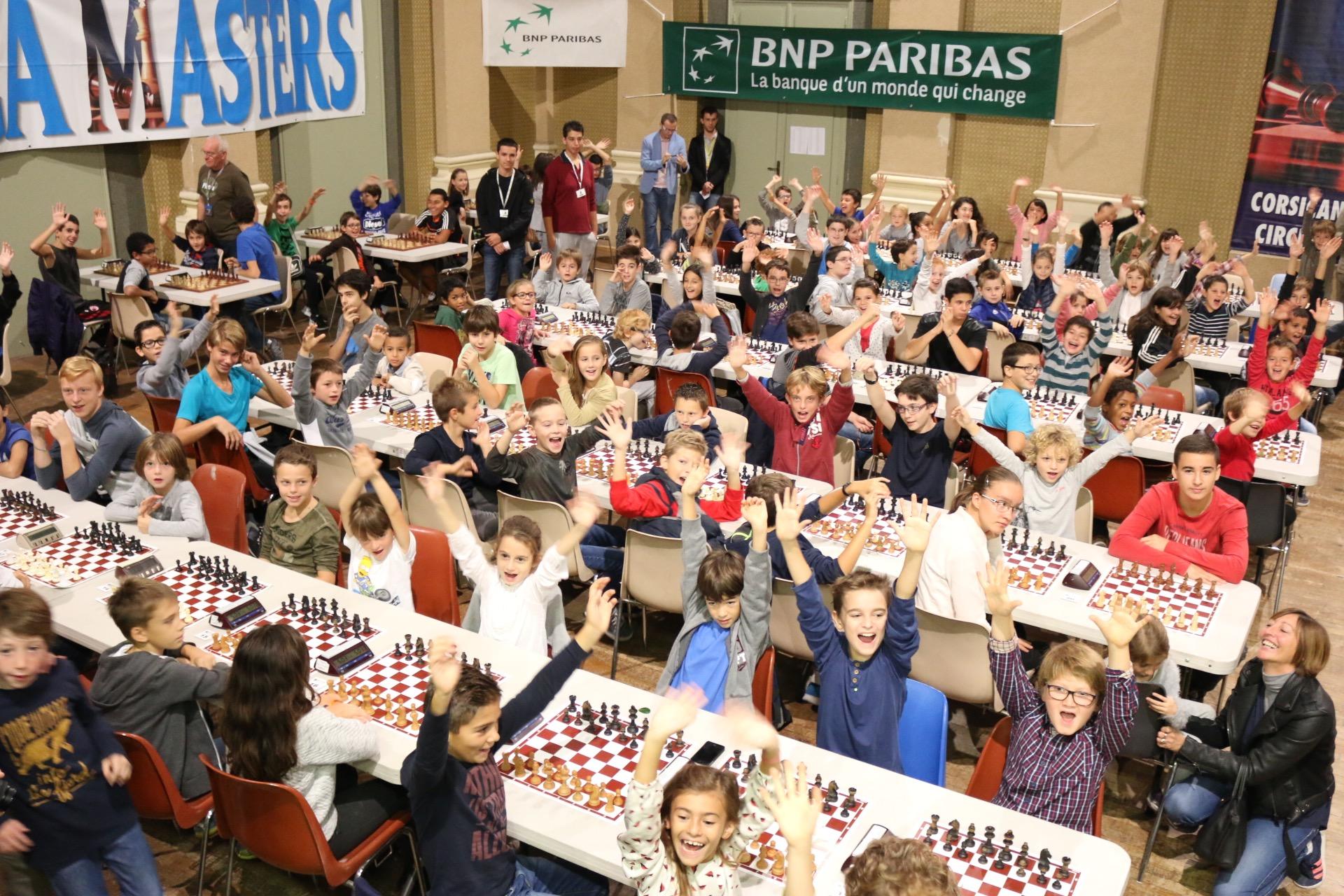 Victoire de Nabil Bouslimi au Trophée BNP Paribas des jeunes d'Aiacciu
