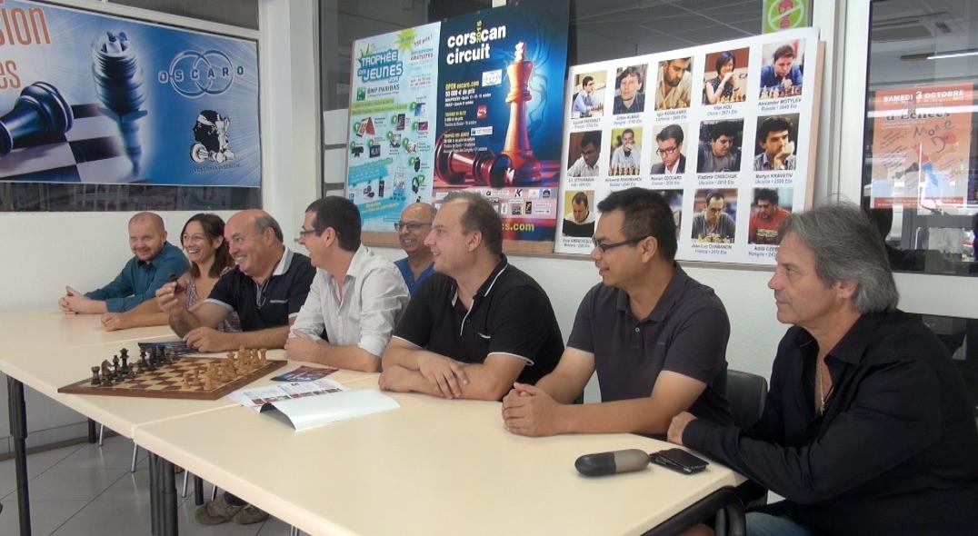 Conférence de presse à Bastia le mardi 22 septembre