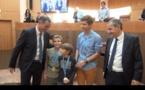 Les champions ovationnés par l'Assemblée de Corse