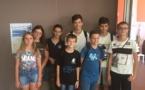 7 jeunes Corses au 33e Open International d'Avoine