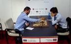 The star of the next Corsican Circuit beats Carlsen and wins the Biel Grandmaster a round before the end!