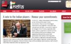 Chessbase salue la démarche de Léo Battesti suite aux mauvais comportements de certains joueurs indiens par rapport à l'organisation de Purtichju.