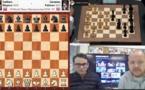 Carlsen avec les blancs, mais sans résultat...