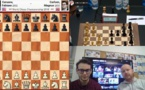 Carlsen et Caruana dos à dos !