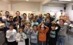"""Très belle participation à la """"ghjustra di Natale"""" Corse Frêt du Corsica Chess Club"""