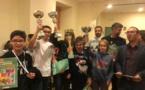 Belle victoire de Laurent Vachet au tournoi de Noël du Collège Fesch