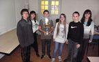 L'hommage du collège de Corti à ses champions