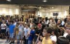 De nombreux participants pour le Blitz Galerie Géant à Portivechju