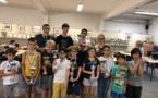 Belles victoires de Nabil Bouslimi et de Cerise Castagnerol aux Blitz de rentrée du Corsica Chess Club