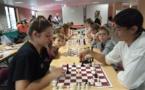 L'Echecs club Ajaccien présent aux côtés des bénévoles de la Marie Do
