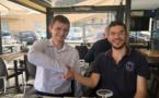 Laurent Fressinet/Sergei Azarov Avant le choc, la détente !