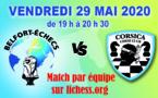Corsica Chess Club Vs Belfort-Echecs : 199 à 221 !