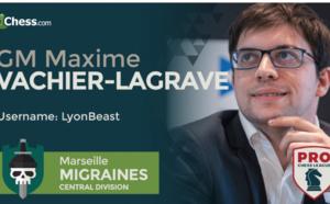 Suivez la Pro Chess League avec la participation de Marc Andria Maurizzi