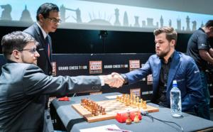 Akkhavanh Vilaisarn arbitre de la finale du Grand Chess Tour à Londres