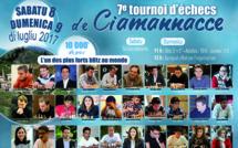 7e Open d'Echecs de Ciamannacce 9 juillet 2017