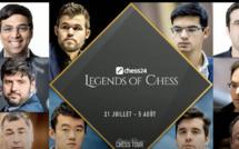 """N°23 Le """"Legends of Chess"""" remporté par... l'actuel champion du monde !"""