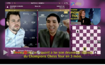 N°11 Wesley So l'emporte contre Magnus Carlsen au Champion Chess Tour