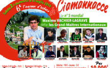 Ciamannacce, un village de 136 habitants, accueillera l'un des plus forts tournois de Blitz au Monde !